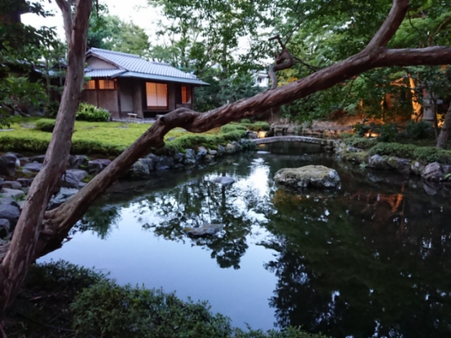 旧三井家下鴨別荘夜間特別開館(4)