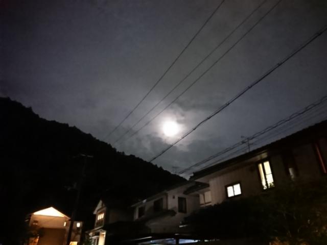 十五夜 山科にて