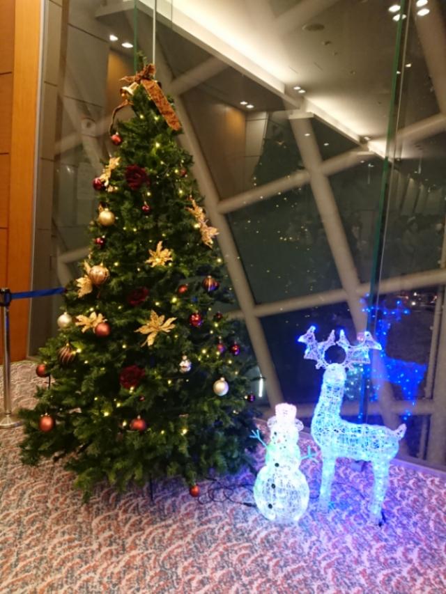 NHK大阪ホールのクリスマスツリー