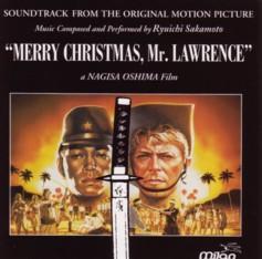 「戦場のメリークリスマス(MERRY CHRISTMAS,Mr.LAWRENCE)」オリジナル・サウンドトラック 輸入盤ジャケット