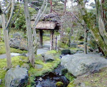 白沙村荘庭園1