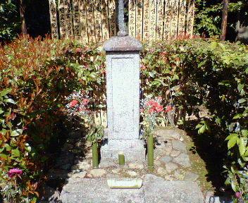 二代目吉野太夫(松田徳子)の墓