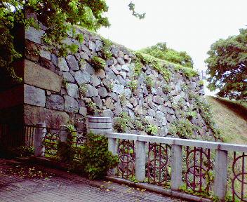名古屋城外堀 石塁