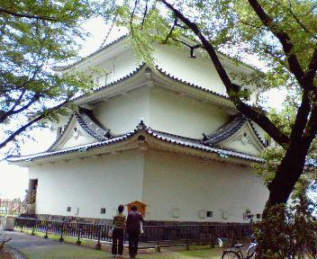 名古屋城内から見た清須櫓