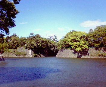 名古屋城天守遠景