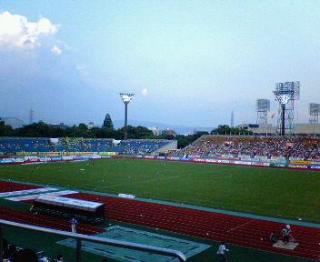 サッカーJ1<br />  リーグ 京都パープルサンガ対ジェフユナイテッド千葉戦