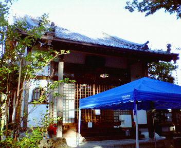 小町寺(補陀洛寺)本堂