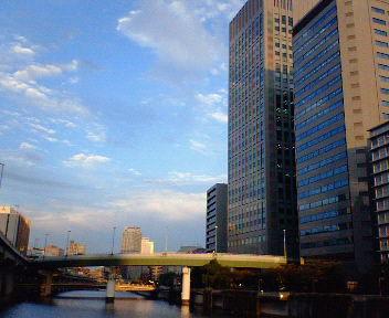 渡辺橋より東を見る
