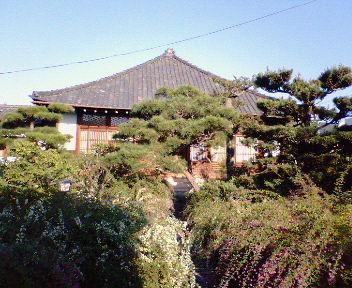 萩の寺・常林寺境内