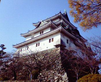 和歌山城天守(1)