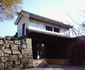 和歌山城 岡口門
