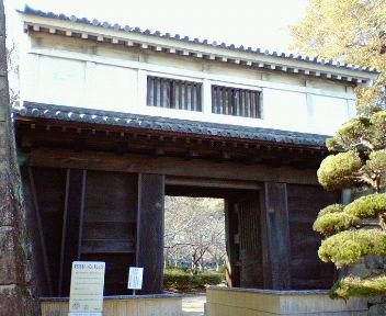 和歌山城 岡口門(2)