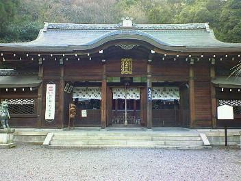 大石神社拝殿