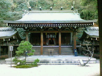 大石神社本殿