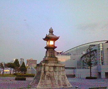 大津の石灯籠