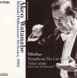渡邉暁雄指揮ヘルシンキ・フィル シベリウス交響曲第1番&「悲しきワルツ」