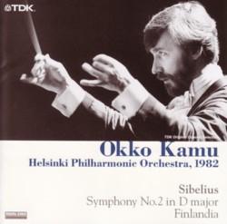 オッコ・カム指揮ヘルシンキ・フィル シベリウス交響曲第2番&「フィンランディア」