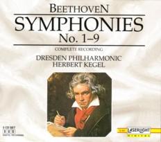 ヘルベルト・ケーゲル指揮ドレスデン・フィル 「ベートーヴェン交響曲全集」