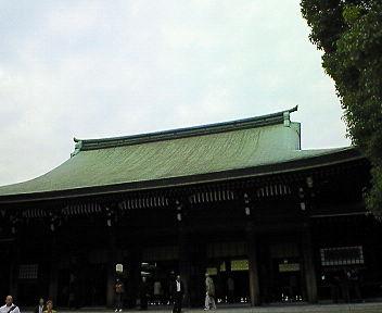明治神宮 拝殿2