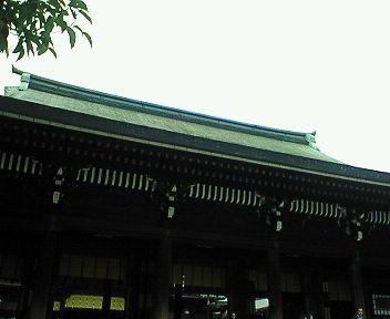 明治神宮 拝殿