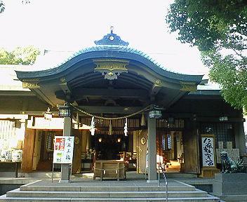 高津宮(高津神社) 拝殿