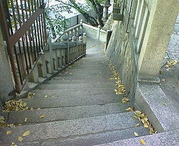 高津宮(高津神社) 西坂