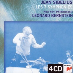 レナード・バーンスタイン指揮ニューヨーク・フィルハーモニック 「シベリウス交響曲全集」