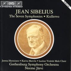 ネーメ・ヤルヴィ指揮エーテボリ交響楽団 「シベリウス交響曲全集」(BIS盤)