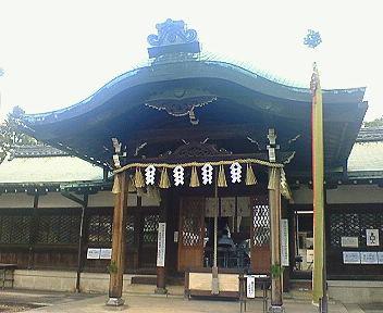 新日吉神宮 拝殿