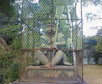 新日吉神宮 狛猿 吽像