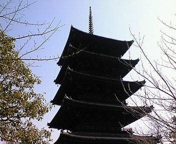 東寺 五重塔(2)