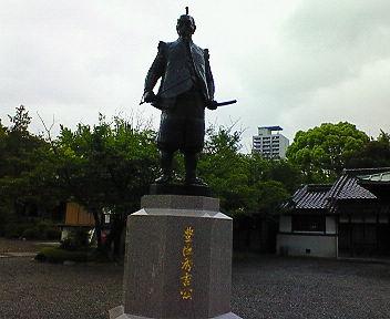 豊國神社(ほうこくじんじゃ) 豊臣秀吉公像(1)