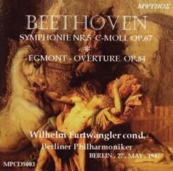 ヴィルヘルム・フルトヴェングラー指揮ベルリン・フィルハーモニー管弦楽団 ベートーヴェン交響曲第5番 1947年5月27日録音 MYTOS(ミソス)盤