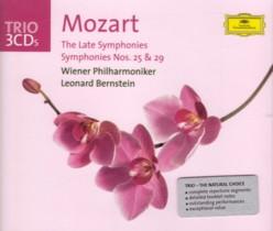 レナード・バーンスタイン指揮ウィーン・フィル モーツァルト「後期6大交響曲+交響曲第25番&第29番」