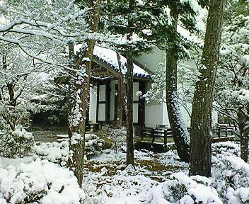 雪の法然院境内(3)