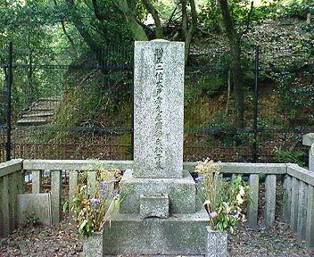 木戸松子(幾松)の墓