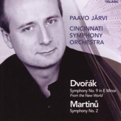 パーヴォ・ヤルヴィ指揮シンシナティ交響楽団 ドヴォルザーク交響曲第9番「新世界より」&マルティヌー交響曲第2番