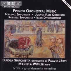 パーヴォ・ヤルヴィ指揮タピオラ・シンフォニエッタ 「フランス管弦楽曲集(フランス音楽オムニバス)」(BIS)