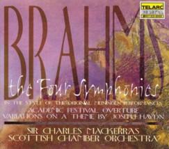サー・チャールズ・マッケラス指揮スコットランド室内管弦楽団 「ブラームス交響曲全集」