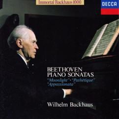 ヴィルムヘルム・バックハウス(ピアノ) ベートーヴェン 「月光」、「悲愴」、「熱情」
