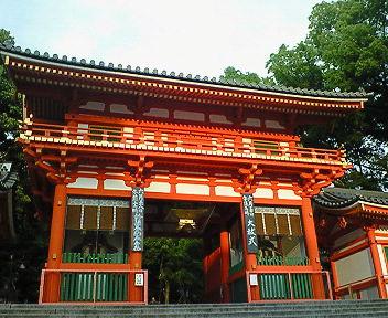八坂神社 西楼門2