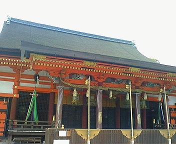 八坂神社 拝殿・本殿