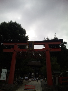 松尾大社朱の鳥居