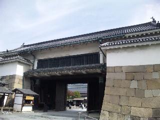 城内から見た東大手門