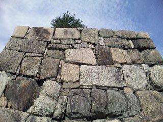 二条城本丸石垣1