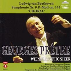 ジョルジュ・プレートル指揮ウィーン交響楽団ほか ベートーヴェン交響曲第9番「合唱付き」