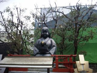 千本釈迦堂おかめ像