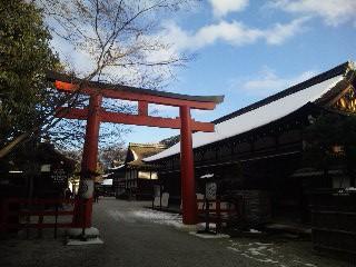 雪の下鴨神社2