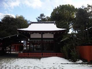 雪の下鴨神社3