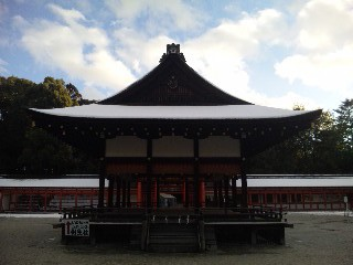 雪の下鴨神社4